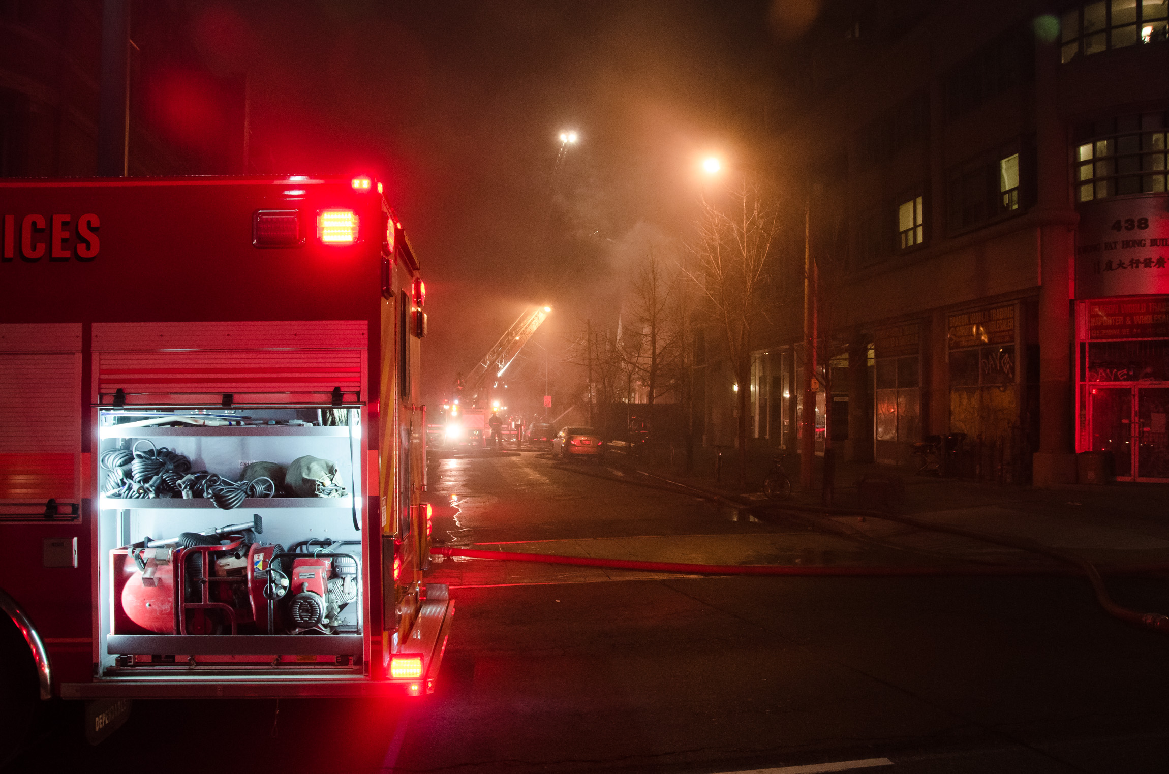 oxford street fire in kensington market